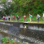 いよいよ、弘法山公園の登り口に向かう!