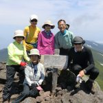CIMG2456_羅臼岳頂上にて 1