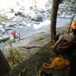 22_魚止めノ滝_ロープでゴボウ登り