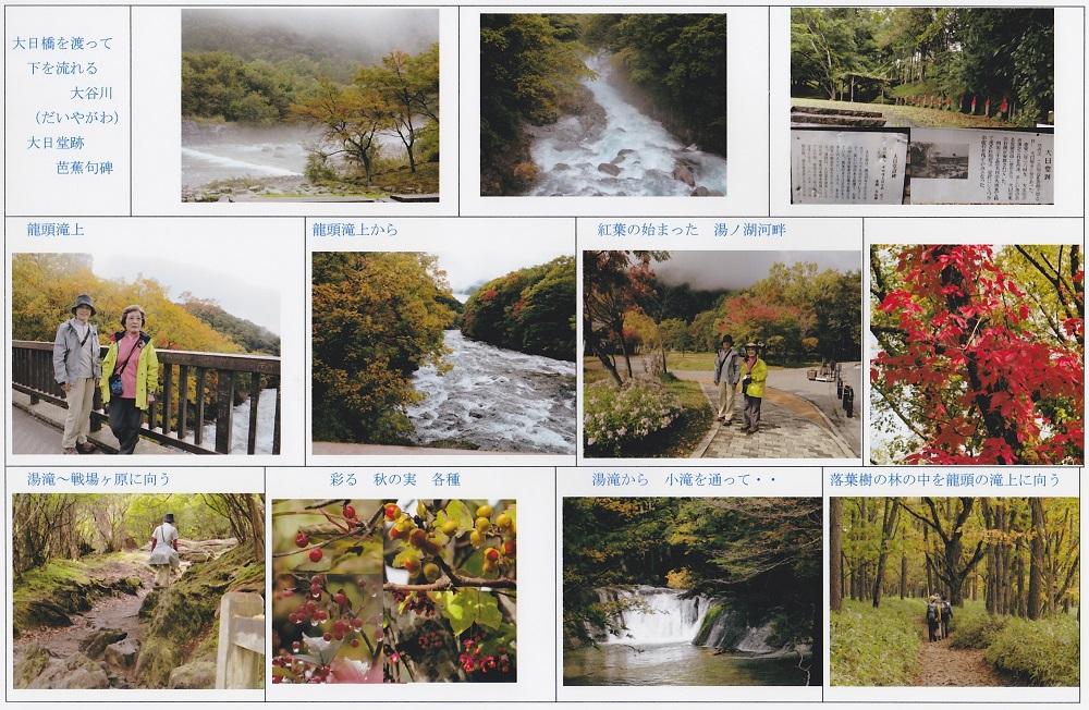 大日橋(大谷川)~竜頭の滝に向かう
