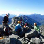明神岳山頂