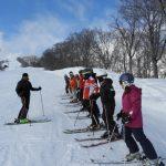 関温泉スキー場での講習会(1)