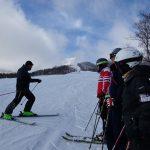 関温泉スキー場での講習会