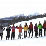 関温泉スキー場にて 集合写真