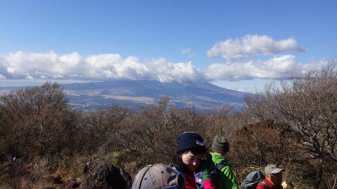 金時山頂からの富士山