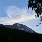 Shira CampからのKibo峰