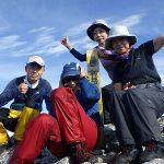 唐沢岳頂上