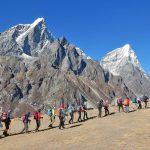 エベレスト核心部を目指す トレッキング7日目いよいよ5,000mの世界へ