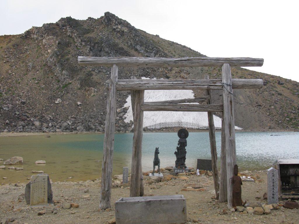 二ノ池からの御嶽山