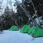 3張のテント。全部同じメーカーになりました。
