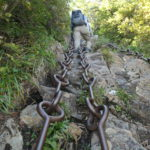 三ノ鎖を登る