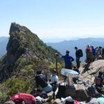 弥山から見た天狗岳