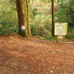 24. 森戸川林道の広場です。逆コースの場合、葉山消防19番標識が目印です。ここから、森戸川に下りて。。。